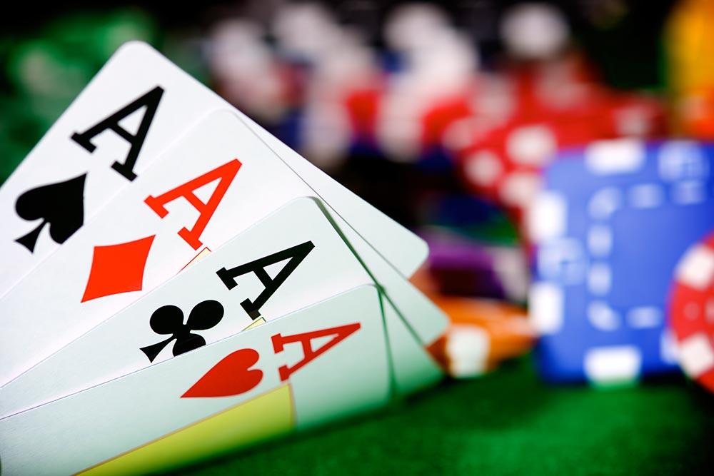 playing poker games